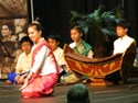 Lao Dancer and her muscians