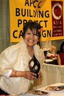 Elena Cosio a long time volunteer was honored this year.