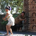 APCC Luau - Ms. Kiana Fuega, the Samoan Siva Taualuga with support from her