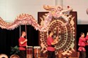 The infamous Dragon Dance preparing the Dome for the event and the new year...