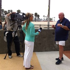 A City TV interview about the opening of the Universally Accessible Playground
