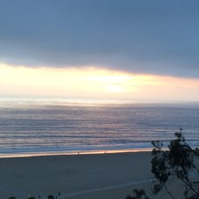 Each day brings different views of the Pacific Ocean.