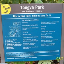 A new Park & new signs!