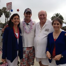 With some of my fellow Recreation & Parks Commissioners at the 4th of July Parade
