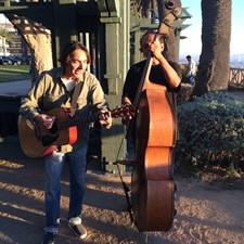 Tee-M plays in Palisades Park each Sunday afternoon. Two very talented guys. We had them open our Commission meeting in City Hall and they played at Much Music LA Day 2013. On top of that they have dedicated a song from their original works to my campaign.