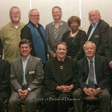 The 2014-2015 Board Of Directors of the California Association of Parks & Recreation Commissioners & Board Members. I'm the immediate Past President.