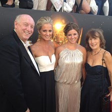 At the Emmys!