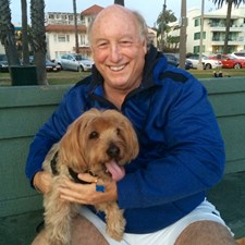 Introducing my mother's best friend, Sandy, to Palisades Park. He loves the Park!