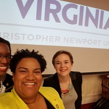 Had fun at CNU for a VA21 panel discussion on