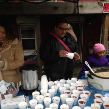 Marcia helped serve soup and chili at the NN Downtown Merchants and Neighbors Assoc.'s Christmas Toy Giveaway in December. Councilwoman Saundra Cherry spearheaded the event, which was supported by elected officials, the NNPD, and the NN Sheriff's Office.