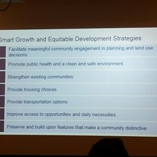 The City of Newport News, Southeast CARE Coalition, and the EPA teamed up to host a community dialogue on Equitable Development.  Here's one of the slides from the presentation.  The work is ongoing. Sign up to be a part of the conversation.