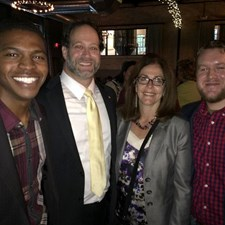 Left to Right, LCYR President Blake Hudson, Circuit Court Clerk Keith Brin, State Rep. Sheri Jesiel, & LCYR Vice President Joel Sikes