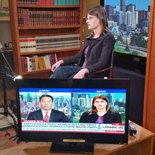Interviewing on MSNBC on July 3rd 2016