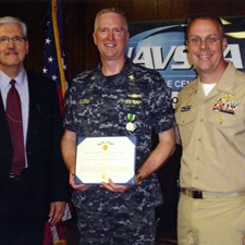 Awarded the Navy and Marine Corps Commendation Medal while at Naval Surface Warfare Center, Corona Division
