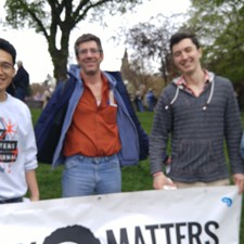 4/22/17 UW Grey Matters Journal at March for Science at Cal Anderson Park
